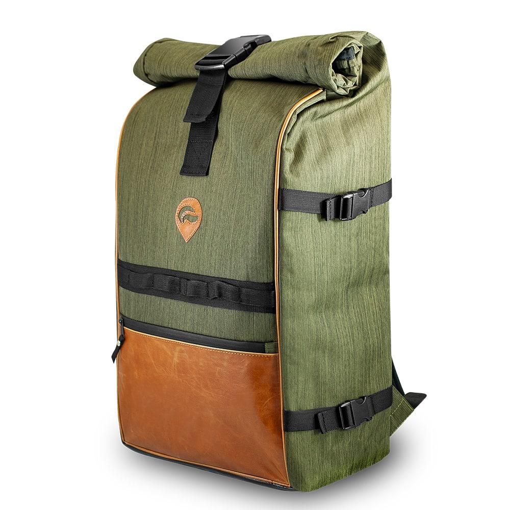 Green No Lock Skunk Bags